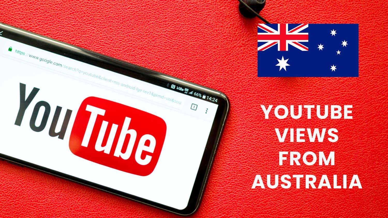 Buy Youtube Views from Australia
